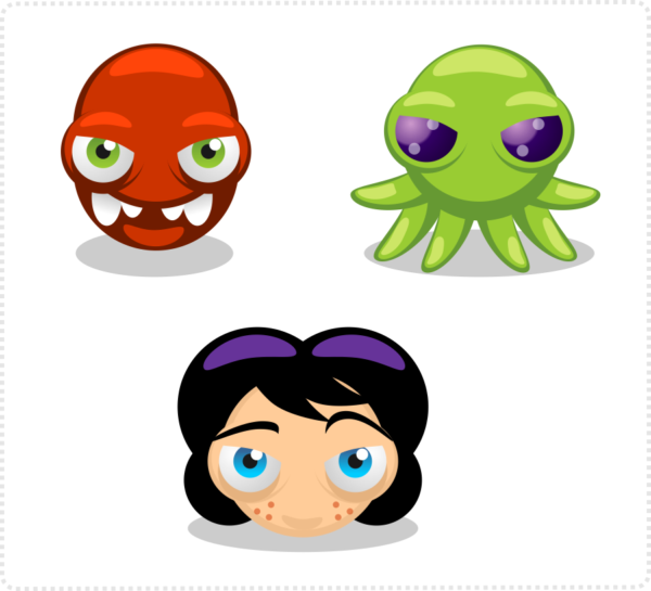 2dgameartguru - Inkscape beginner skills circles