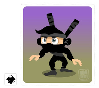 2Dgameartguru character design ninja
