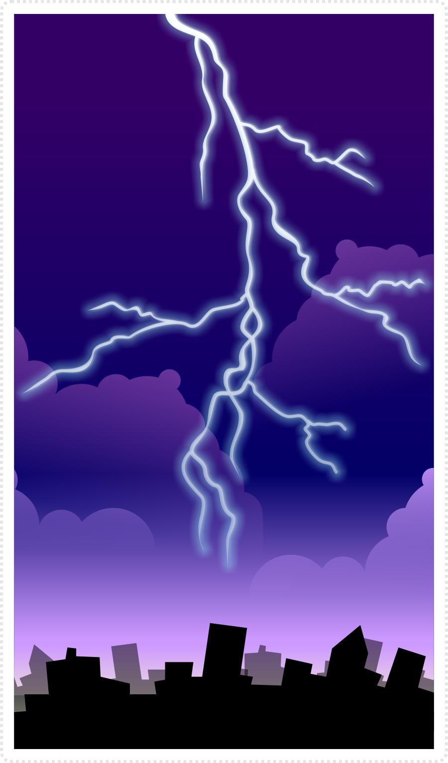 2dgameartguru - designing lightning strikes