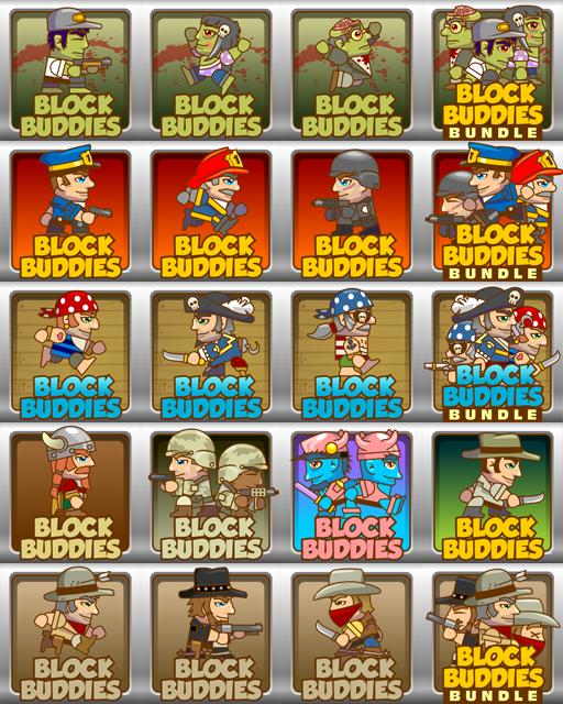 2Dgameartguru BlockBuddies