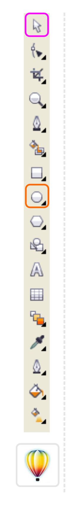 2Dgameartguru CorelDraw toolbar