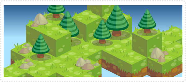 2Dgameartguru - isometric tiles sample