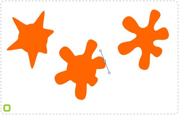 2Dgameartguru - making a splatter