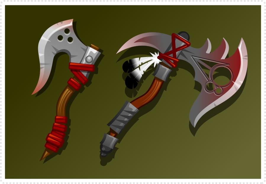 2dgameartguru - crafting an ax