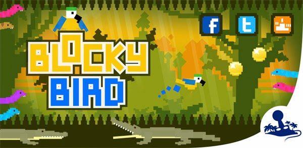 2Dgameartguru news BlockyBird released