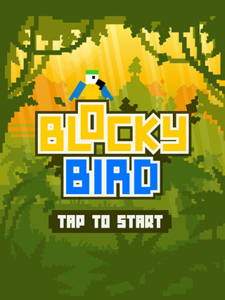 2Dgameartguru BlockyBird screen