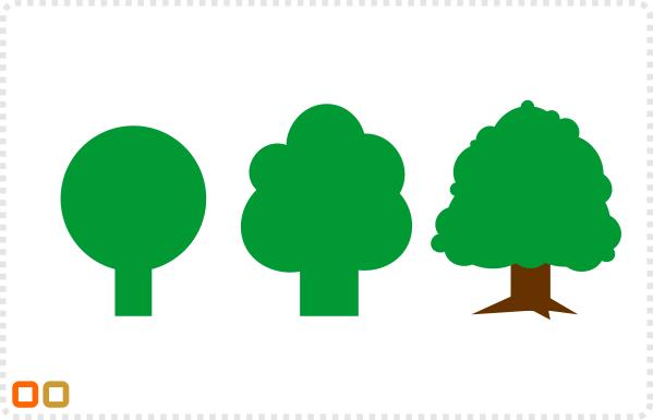 2Dgameartguru - creating trees