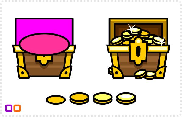 2Dgameartguru treasure chest