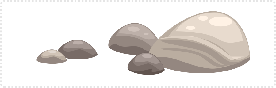 2dgameartguru - shading rocks and stones