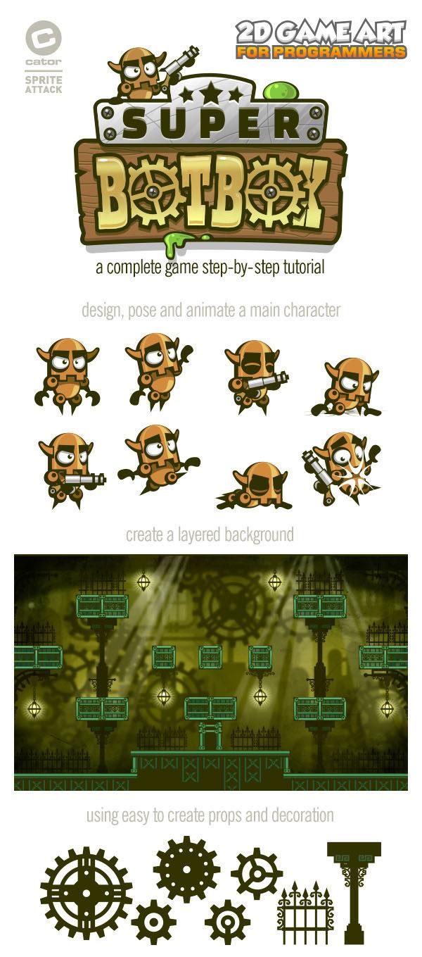 2Dgameartguru complete game art promo1
