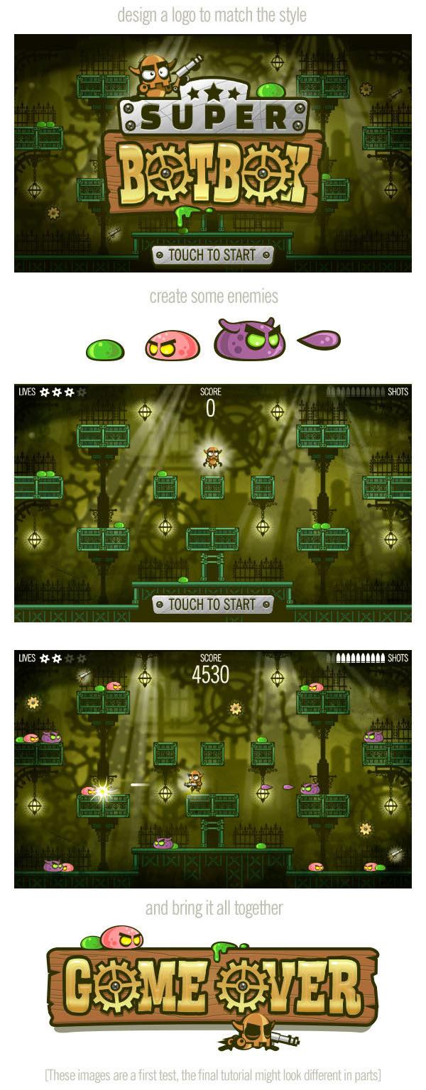 2Dgameartguru complete game art promo2