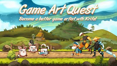 2Dgameartguru news Gameart Quest Kickstarter Campaign