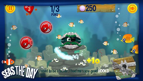 Seas the day - mobile phone game