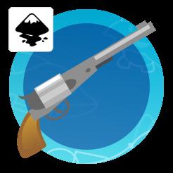 2Dgameartguru creating a gun