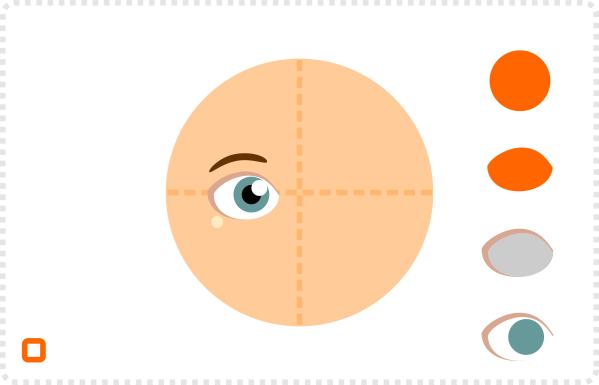 2Dgameartguru rotating a face
