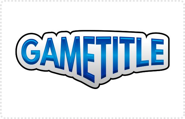 2dgameartguru - designing a title logo shading