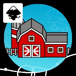 2Dgameartguru feature building barn