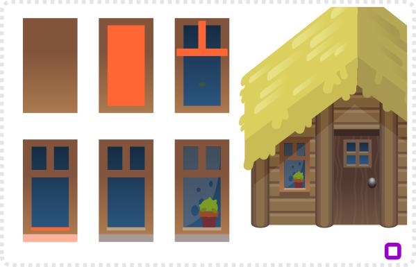 2Dgameartguru Refining buildings