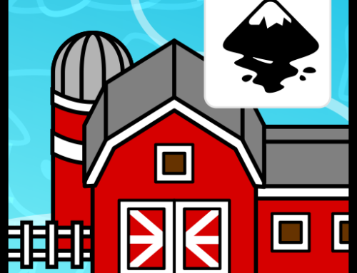 More 2D gameart houses – creating an iconic barn