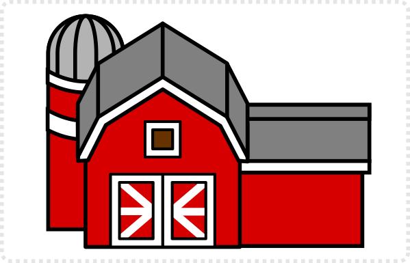 2Dgameartguru barn building