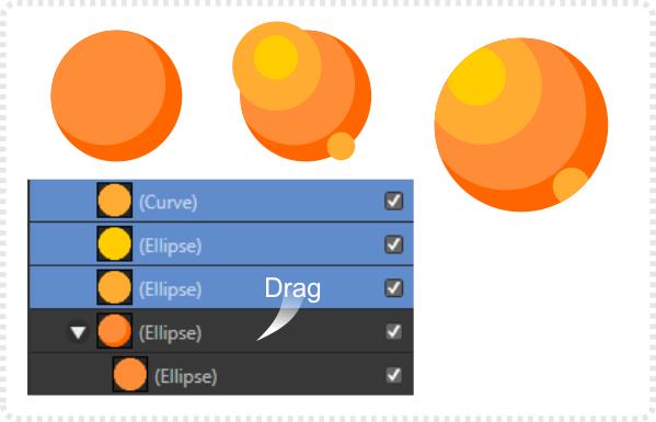 2Dgameartguru masking in Affinity Designer