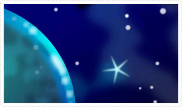 2Dgameartguru space backgrounds