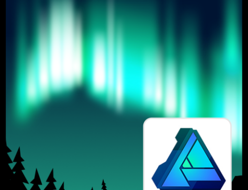 Northern Lights – special effect – created easily with blurs
