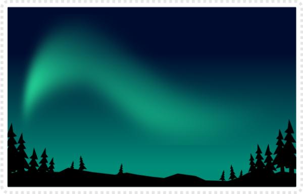 2dgameartguru - making northern lights