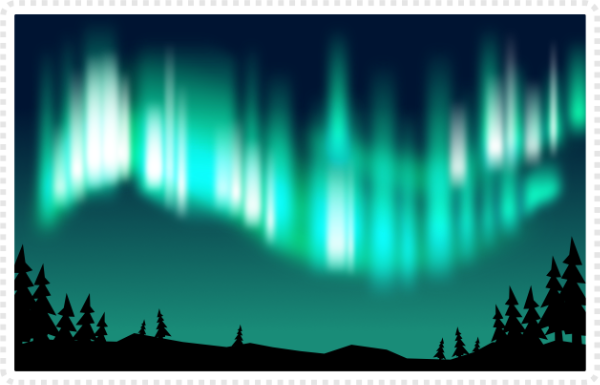 2dgameartguru - making northern lights