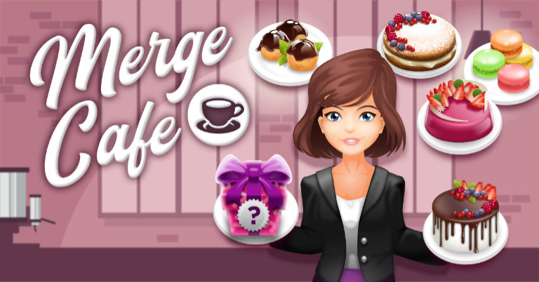 cafe merge - facebook instantgame