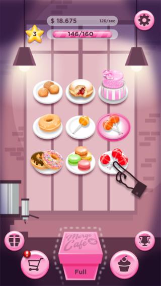 2Dgameartguru - cafe merge mockup - facebook instantgames