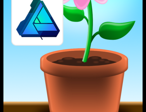 Create and shade a flower pot in Affinity Designer