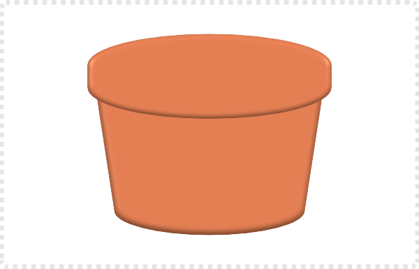 2dgameartguru - creating a flower pot