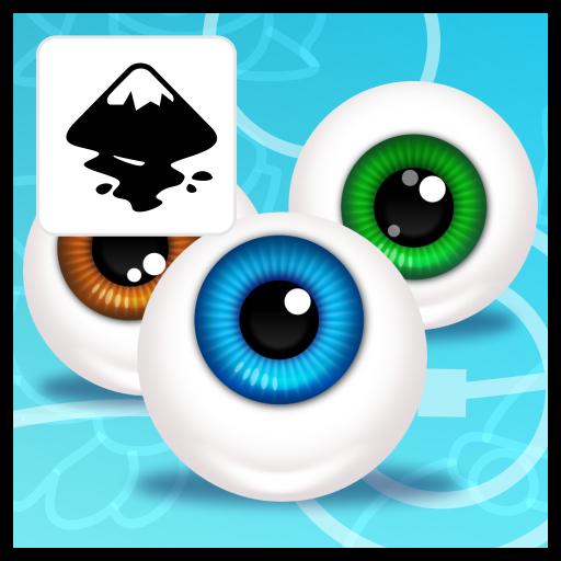 2dgameartguru - eyeball Pixar style