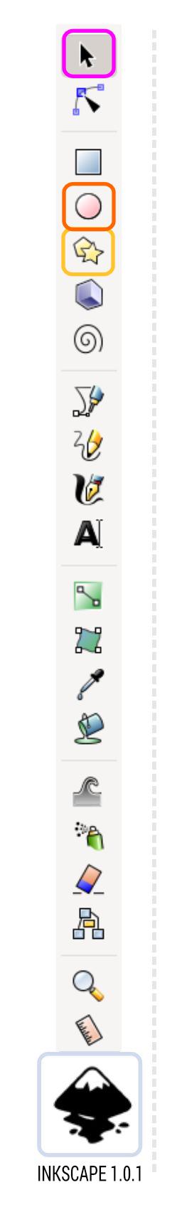 2Dgameartguru - inkscape toolbar