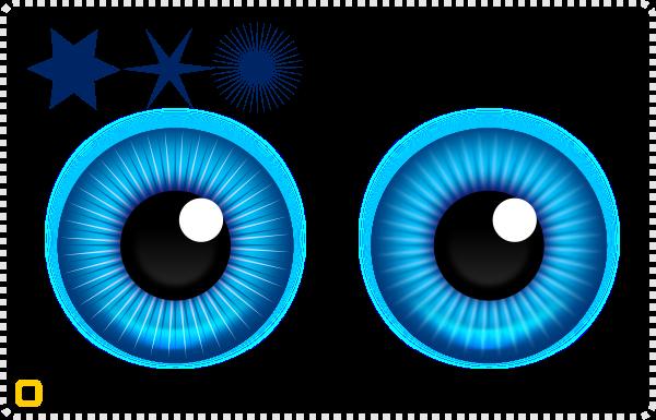 2dgameartguru - creating eyes Pixar style 3