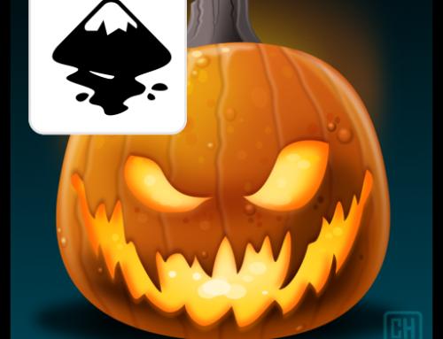 Designing a Carved Pumpkin in Inkscape