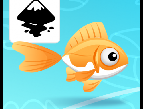Animating a fish in Inkscape