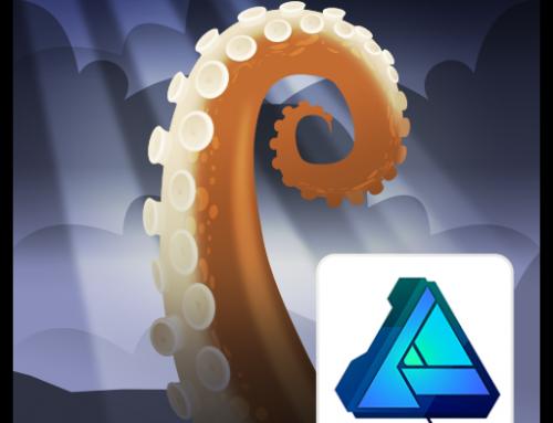 Designing Octopus Tentacles in Affinity Designer