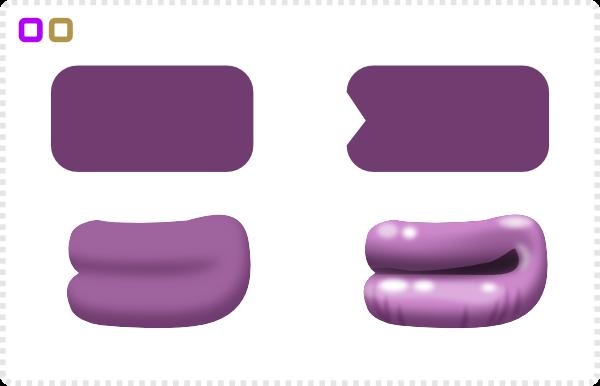2Dgameartguru - character design alien blob