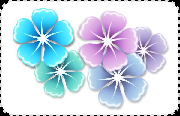 2Dgameartguru - flowers using clones in Inkscape