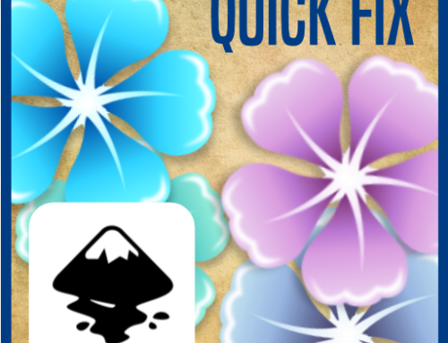 Creating a Flower using Clones in Inkscape