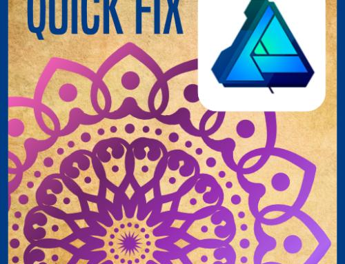 Designing a Mandala or circular pattern in Affinity Designer