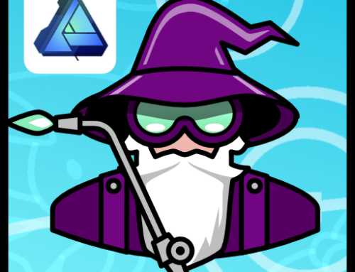 Designing a wizard logo using Affinity Designer