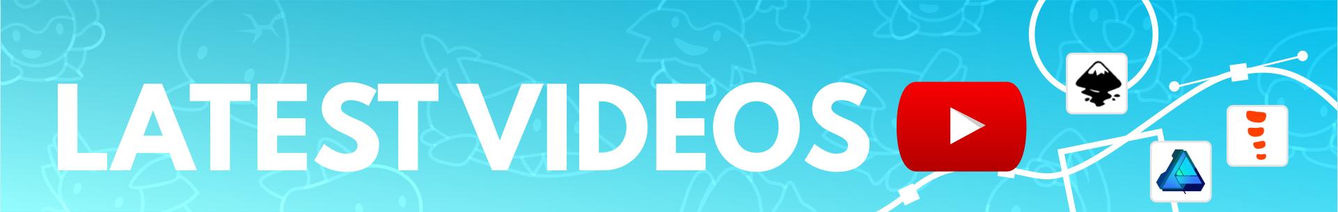 2dgameartguru - header recent videos