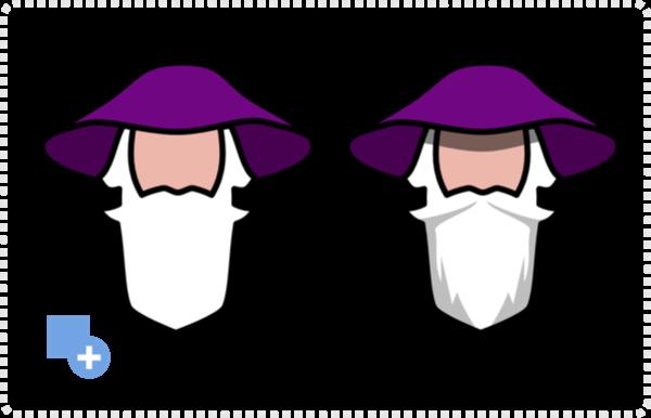 2dgameartguru - creating a wizard logo illustration