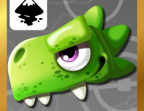 Updating and shading the dinosaur design