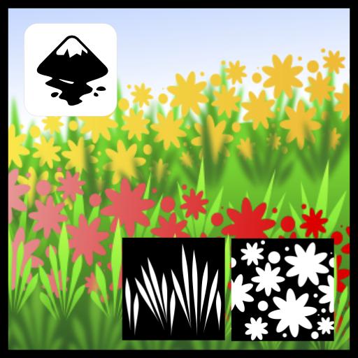 2dgameartguru - pattern creation in Inkscape