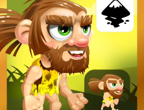 Polishing a game character some more – Inkscape video tutorial