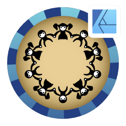 2dgameartguru - aligning images around a circle